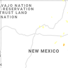 Regional Hail Map for Albuquerque, NM - Monday, May 17, 2021