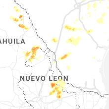Regional Hail Map for Laredo, TX - Tuesday, May 18, 2021