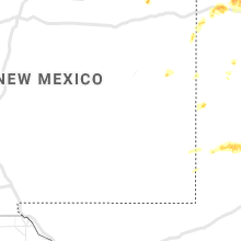 Regional Hail Map for Roswell, NM - Tuesday, May 18, 2021