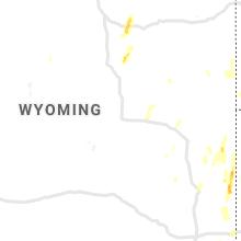 Regional Hail Map for Casper, WY - Thursday, May 20, 2021