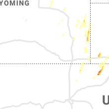 Regional Hail Map for Laramie, WY - Thursday, May 20, 2021