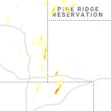 Regional Hail Map for Scottsbluff, NE - Thursday, May 20, 2021
