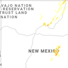 Regional Hail Map for Albuquerque, NM - Saturday, May 22, 2021