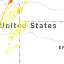 Regional Hail Map for Colby, KS - Sunday, May 23, 2021