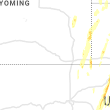 Regional Hail Map for Laramie, WY - Sunday, May 23, 2021