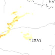 Regional Hail Map for Abilene, TX - Tuesday, May 25, 2021