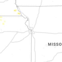 Regional Hail Map for Kansas City, MO - Tuesday, May 25, 2021