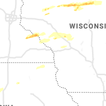Regional Hail Map for La Crosse, WI - Tuesday, May 25, 2021