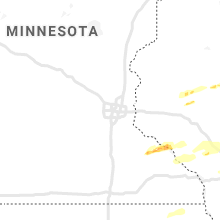 Regional Hail Map for Minneapolis, MN - Tuesday, May 25, 2021