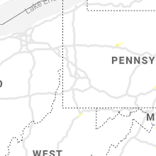 Regional Hail Map for Pittsburgh, PA - Wednesday, May 26, 2021
