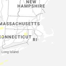 Regional Hail Map for Providence, RI - Wednesday, May 26, 2021
