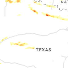 Regional Hail Map for Abilene, TX - Thursday, May 27, 2021