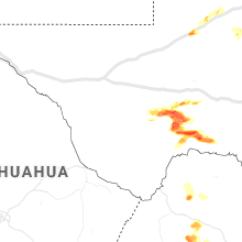 Regional Hail Map for Alpine, TX - Thursday, May 27, 2021