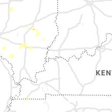 Regional Hail Map for Evansville, IN - Thursday, May 27, 2021