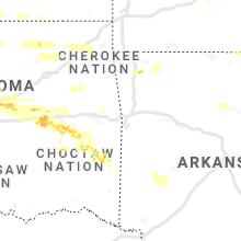 Regional Hail Map for Fort Smith, AR - Thursday, May 27, 2021