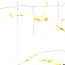 Regional Hail Map for Lubbock, TX - Thursday, May 27, 2021