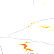 Regional Hail Map for Odessa, TX - Thursday, May 27, 2021
