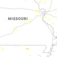 Regional Hail Map for Salem, MO - Thursday, May 27, 2021