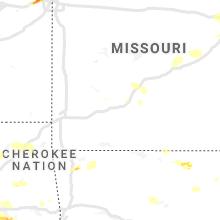 Regional Hail Map for Springfield, MO - Thursday, May 27, 2021