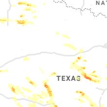 Regional Hail Map for Abilene, TX - Friday, May 28, 2021