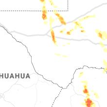 Regional Hail Map for Alpine, TX - Friday, May 28, 2021