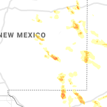Regional Hail Map for Roswell, NM - Friday, May 28, 2021