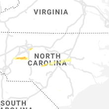 Regional Hail Map for Raleigh, NC - Saturday, May 29, 2021