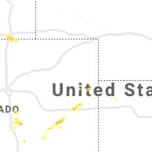 Regional Hail Map for Yuma, CO - Saturday, May 29, 2021