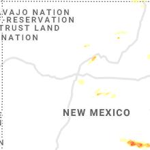 Hail Map for albuquerque-nm 2021-05-30
