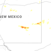 Regional Hail Map for Roswell, NM - Sunday, May 30, 2021