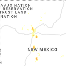 Hail Map for albuquerque-nm 2021-05-31