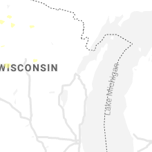 Regional Hail Map for Green Bay, WI - Monday, May 31, 2021
