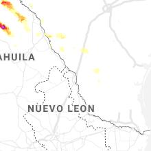 Regional Hail Map for Laredo, TX - Monday, May 31, 2021