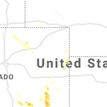 Regional Hail Map for Yuma, CO - Tuesday, June 1, 2021