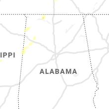 Regional Hail Map for Birmingham, AL - Wednesday, June 2, 2021