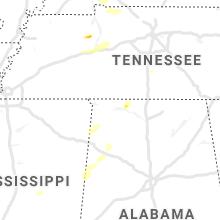 Regional Hail Map for Florence, AL - Wednesday, June 2, 2021