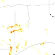 Regional Hail Map for Lubbock, TX - Wednesday, June 2, 2021
