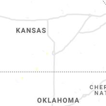 Regional Hail Map for Wichita, KS - Wednesday, June 2, 2021