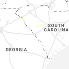 Regional Hail Map for Augusta, GA - Thursday, June 3, 2021