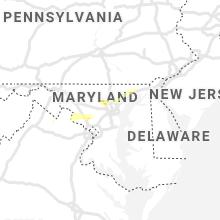 Regional Hail Map for Baltimore, MD - Thursday, June 3, 2021