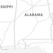Regional Hail Map for Camden, AL - Thursday, June 3, 2021