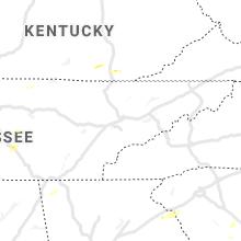 Regional Hail Map for Knoxville, TN - Thursday, June 3, 2021