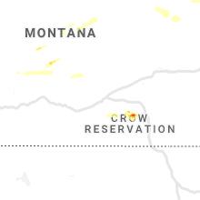 Regional Hail Map for Billings, MT - Friday, June 4, 2021