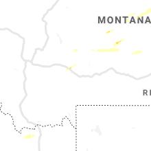 Regional Hail Map for Bozeman, MT - Friday, June 4, 2021