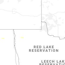 Regional Hail Map for Roseau, MN - Friday, June 4, 2021
