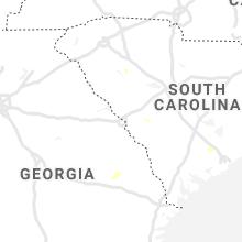 Regional Hail Map for Augusta, GA - Saturday, June 5, 2021