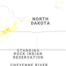 Regional Hail Map for Bismarck, ND - Saturday, June 5, 2021
