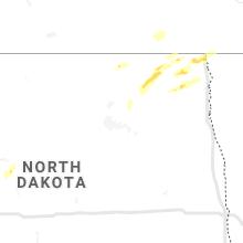 Regional Hail Map for Devils Lake, ND - Saturday, June 5, 2021