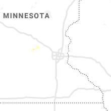 Regional Hail Map for Minneapolis, MN - Saturday, June 5, 2021