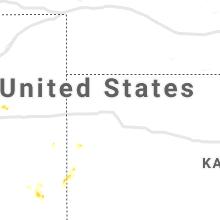 Regional Hail Map for Colby, KS - Sunday, June 6, 2021